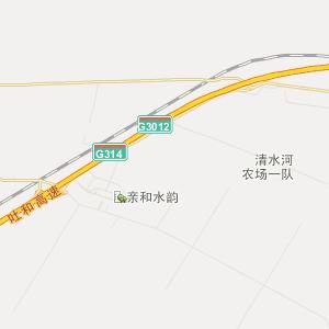 乌什塔拉行政地图