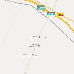 昌吉呼图壁行政地图_中国电子地图网