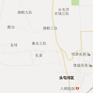 新疆行政地图 乌鲁木齐行政地图