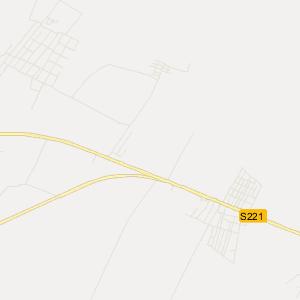 塔城市二工镇旅游地图