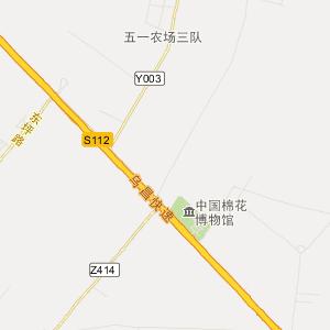 乌鲁木齐安宁渠交通地图