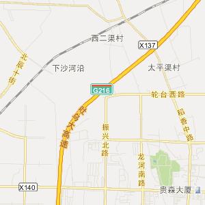 乌鲁木齐友好路地图