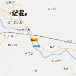 大理漾濞交通地图_中国电子地图网