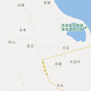大理洱源交通地图_中国电子地图网图片
