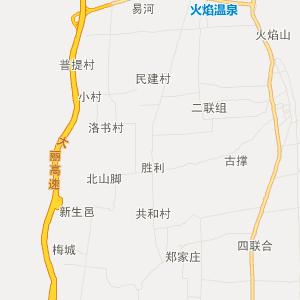 洱源县三营镇旅游地图图片