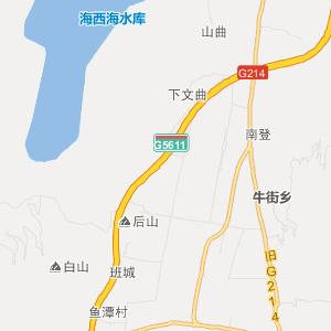 云南省旅游地图 大理州旅游地图
