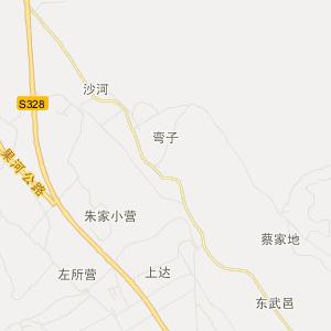 大理弥渡交通地图_中国电子地图网
