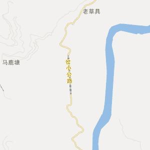 云南省交通地图 临沧市交通地图