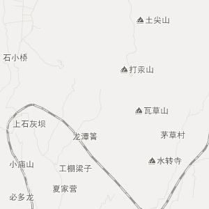 禄丰县中村乡交通地图图片