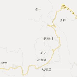 四川省旅游地图 凉山州旅游地图