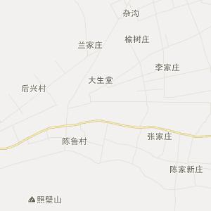 凉州区康宁乡交通地图
