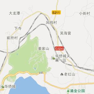 云南省旅游地图 昆明市旅游地图