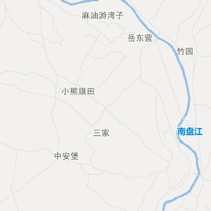 中国地图方位投影