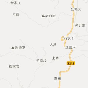 盘县城关交通地图_城关在线交通图查询