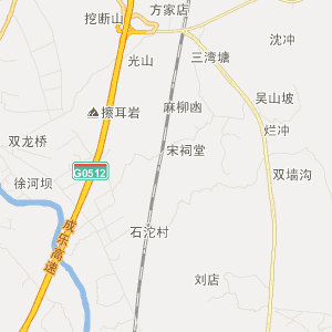 四川省旅游地图 眉山市旅游地图