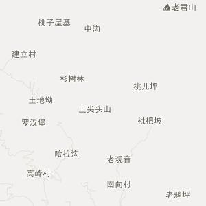 宜宾屏山县中都镇永福村的地图位置