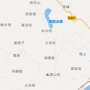 葫芦岛到锦州北普陀山地图展示