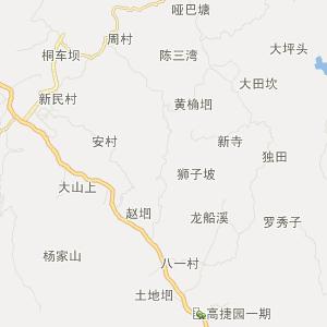 四川省旅游地图 宜宾市旅游地图