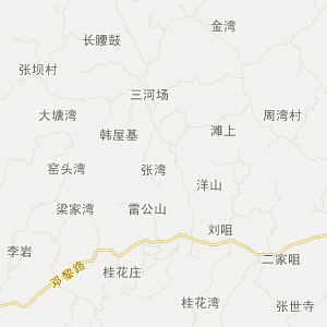 富顺县永年镇交通地图查询