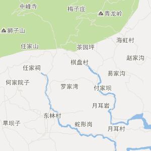 都江堰虹口旅游地图_中国电子地图网图片