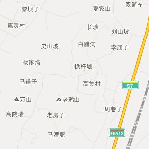 彭山县交通地图 四川省眉山市彭山县