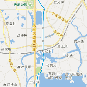 双流县域城乡空间结构