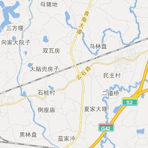 四川交通地图 成都交通地图