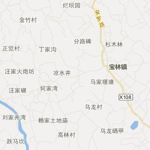 安县塔水旅游地图_塔水在线旅游图