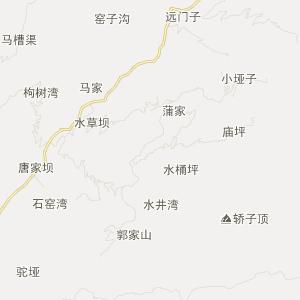 天台罗园北路地图
