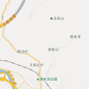 宋朝秦凤路地图