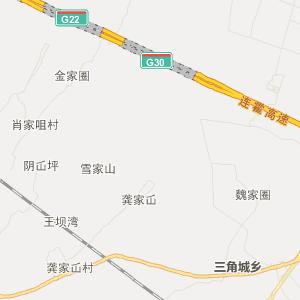 唐山市夏官营镇行政地图