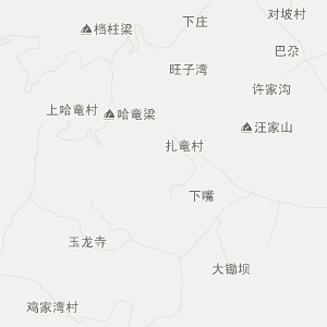 宕昌哈达铺交通地图_中国电子地图网图片