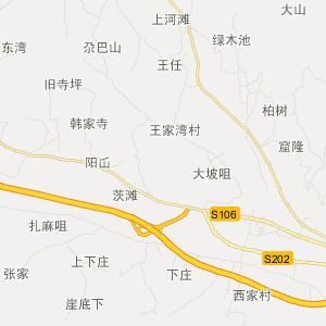沙特电子地图中文版