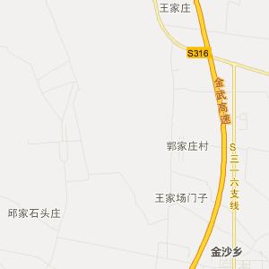 凉州区怀安乡交通地图