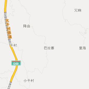罗甸罗悃旅游地图