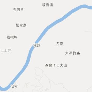广西旅游地图 百色旅游地图