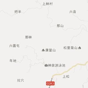 广西交通地图 河池交通地图