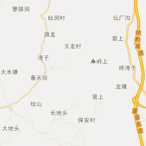 叙永县麻城乡旅游地图