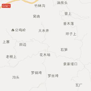 古蔺县马蹄乡交通地图