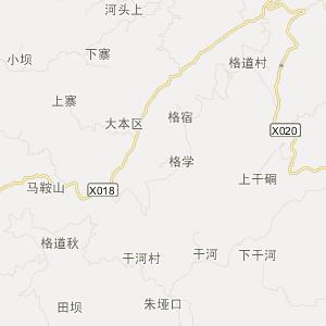 安顺市普定县补郎苗族乡地图