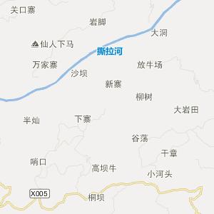 织金上坪寨旅游地图_中国电子地图网