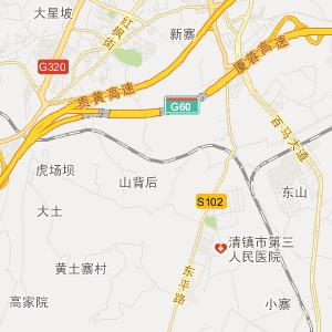 贵阳清镇旅游地图_中国电子地图网