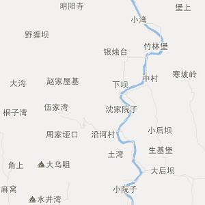 北流市六靖西山地图