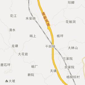 福泉高坪旅游地图_中国电子地图网图片