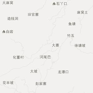 织金阿弓交通地图_中国电子地图网