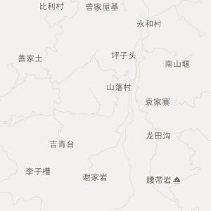 鱼化乡行政地图 泸州市古蔺县鱼化乡在线地图下载