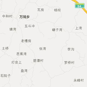 富顺琵琶交通地图_中国电子地图网图片