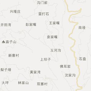 綦江横山交通地图_中国电子地图网