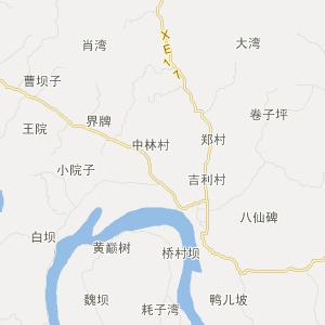 富顺长滩交通地图_长滩在线交通图图片