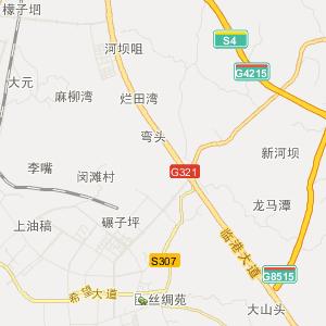龙马潭区莲花池街道旅游地图图片